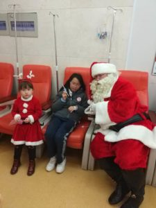 Christmas at the hospital