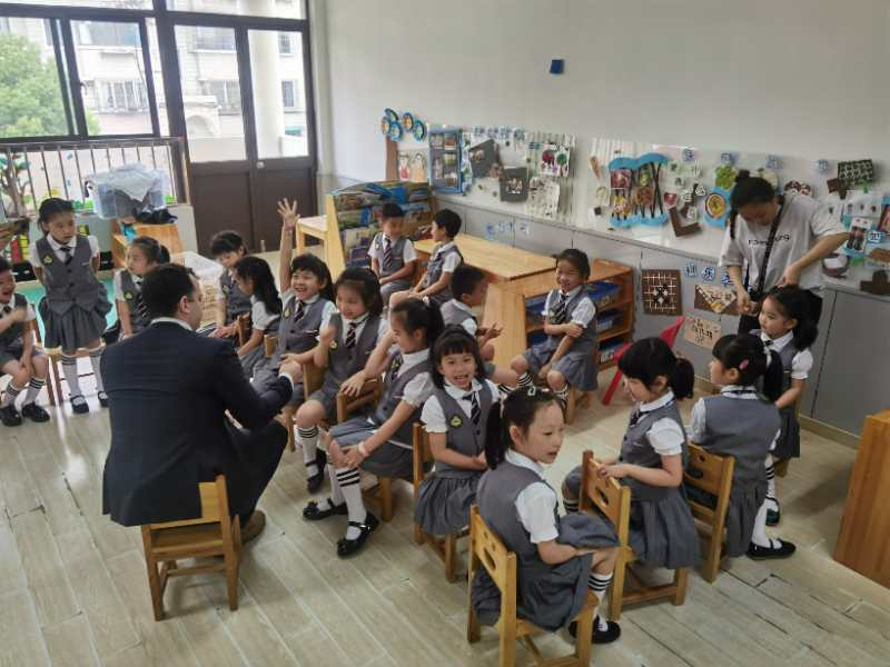 A day in the life of an EFL teacher in a Chinese kindergarten